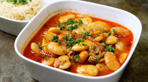 فاصولیه غذای ترکی