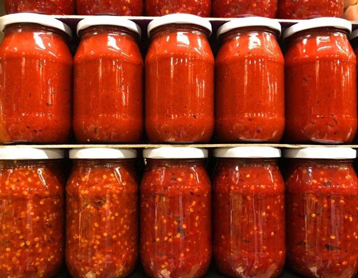 فراورده های گوجه فرنگی