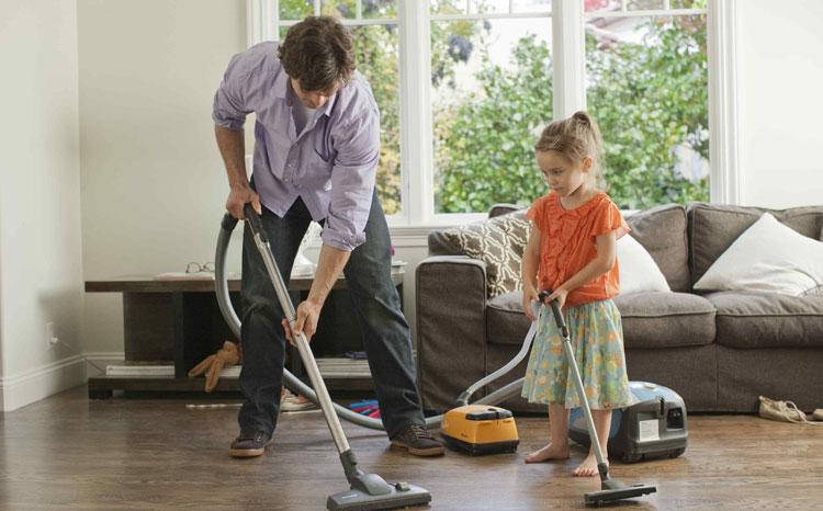نحوه تمیز نگه داشتن خانه
