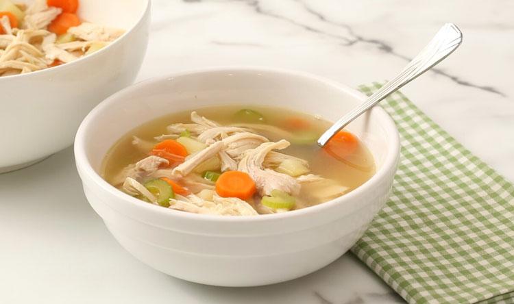 سوپ ساده و راحت