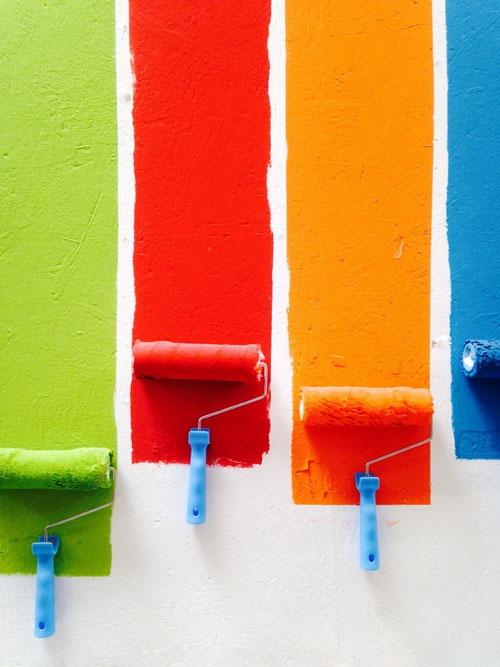 نحوه رنگ آمیزی خانه