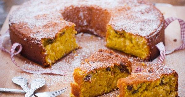 کیک کشمش زعفران