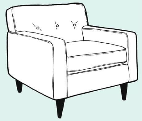 روکش مبل یا صندلی
