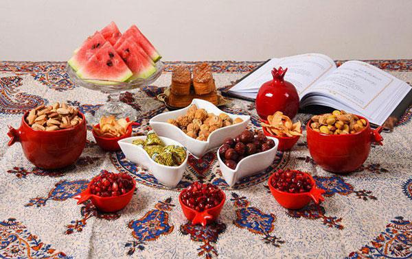 اداب و رسوم شب یلدا