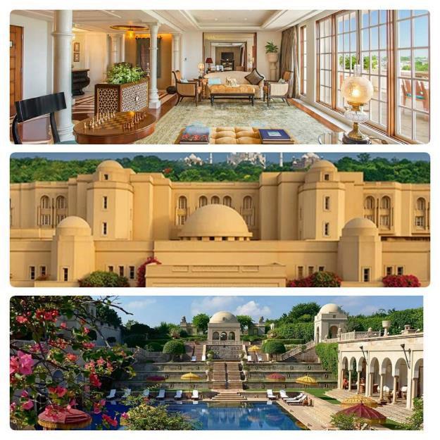 هتل OBEROI AMARVILAS در هند