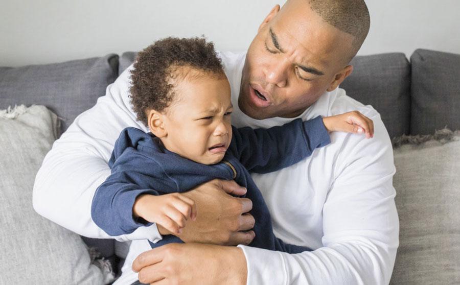 علت نفخ کودک