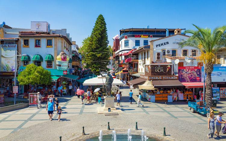 آنتالیا از بهترین شهرهای ترکیه