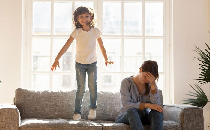 کنترل بچه های بیش فعال