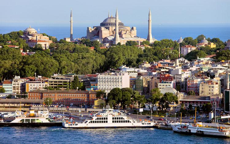 استانبول از بهترین شهرهای ترکیه