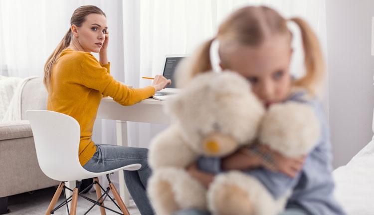 تاثیر مشاجره و دعوای والدین بر کودکان