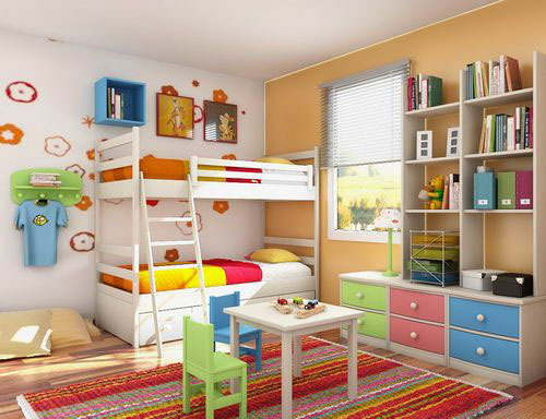 ویژگی های اتاق کودک