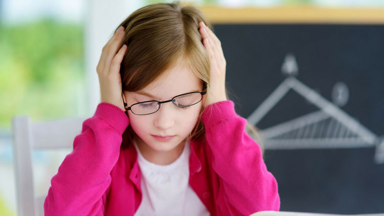 علت استرس در کودکان