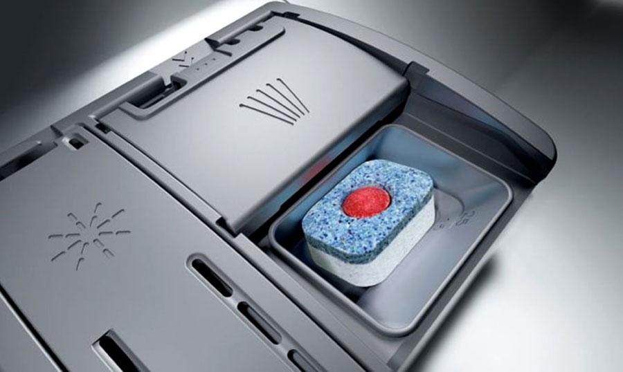 استفاده از قرص ماشین ظرفشویی