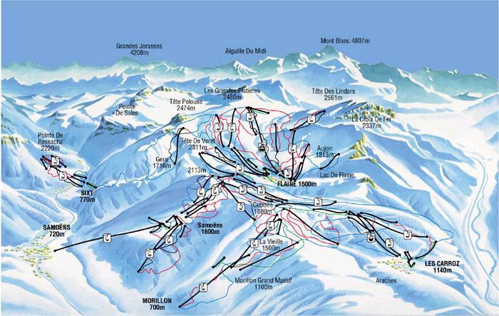 پیست اسکی فلین – فرانسه